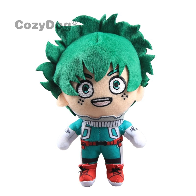 24cm Japan Anime Academia Plush Toys Doll Cute Deku plush doll Big Size Pillow Soft Sleeping toys Children baby Gift
