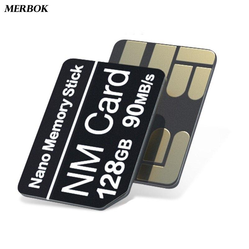 Tarjeta Nano de memoria para teléfono móvil 90 MB/s 128GB para Huawei P40 Pro/+ / P30 Pro con USB 3,1 Gen 1 Tipo C NMCard NM-Tarjeta Stick