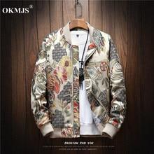 Japanese Embroidery Men Jacket Coat Man Hip Hop Streetwear Men Jacket Coat Bomber Jacket Men Clothes mens jackets and coats 2019