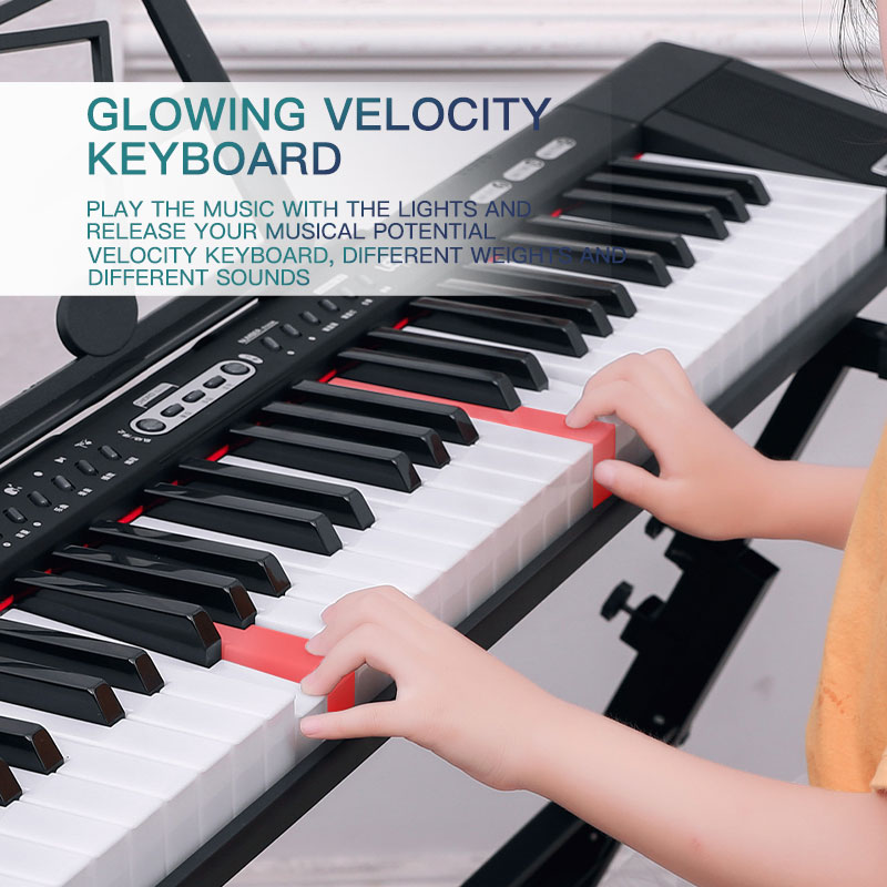 piano musical keyboard electronic music synthesize controller midi usb keyboard professional musical  instrument toys enlarge