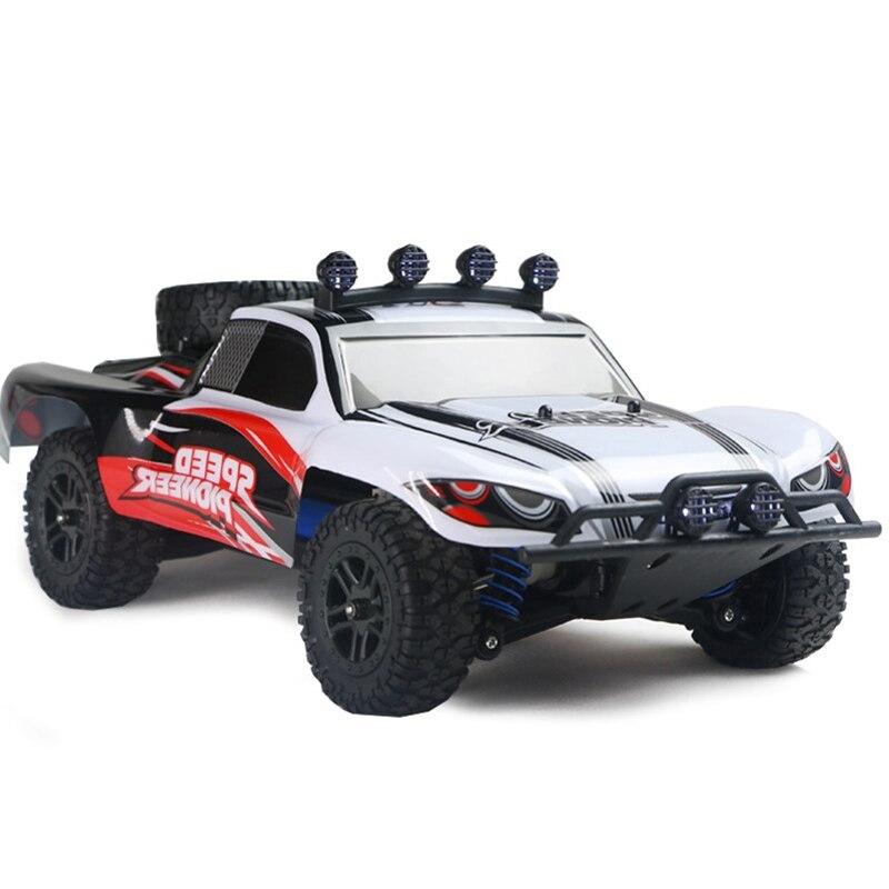 RC Car 4WD 45 km/h pełna proporcja High Speed Drift 2.4G monster truck pilot BigFoot Buggy Off-Road SUV zabawki elektroniczne