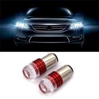 2pcs red 1157 strobe flashing led bulb for car tail brake light turn signal lamp p82b