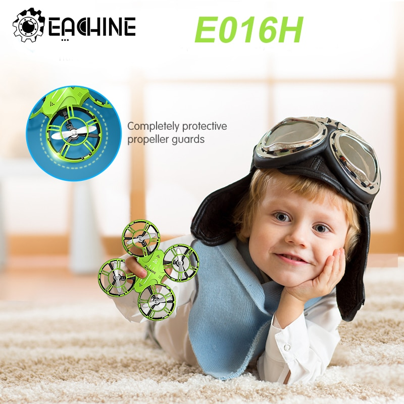 Everyine-E016H Mini Drone ، صيانة الارتفاع ، مقطوعة الرأس ، وقت طيران 8 دقائق ، 2.4G RC quadcopter RTF RC ، مروحية للأطفال VS S9HW H49