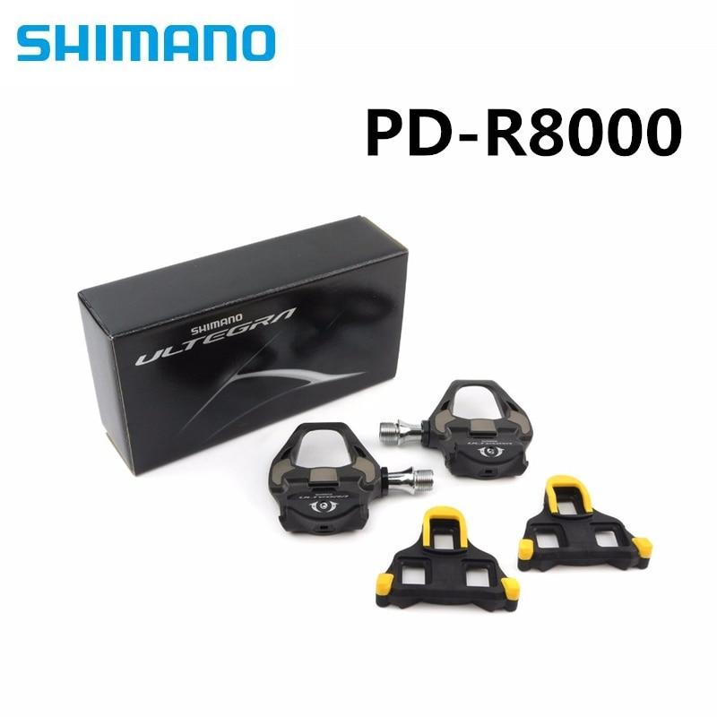 Shimano Ultegra-pedales de carbono y tacos de SM-SH11 para bicicleta de triatlón,...