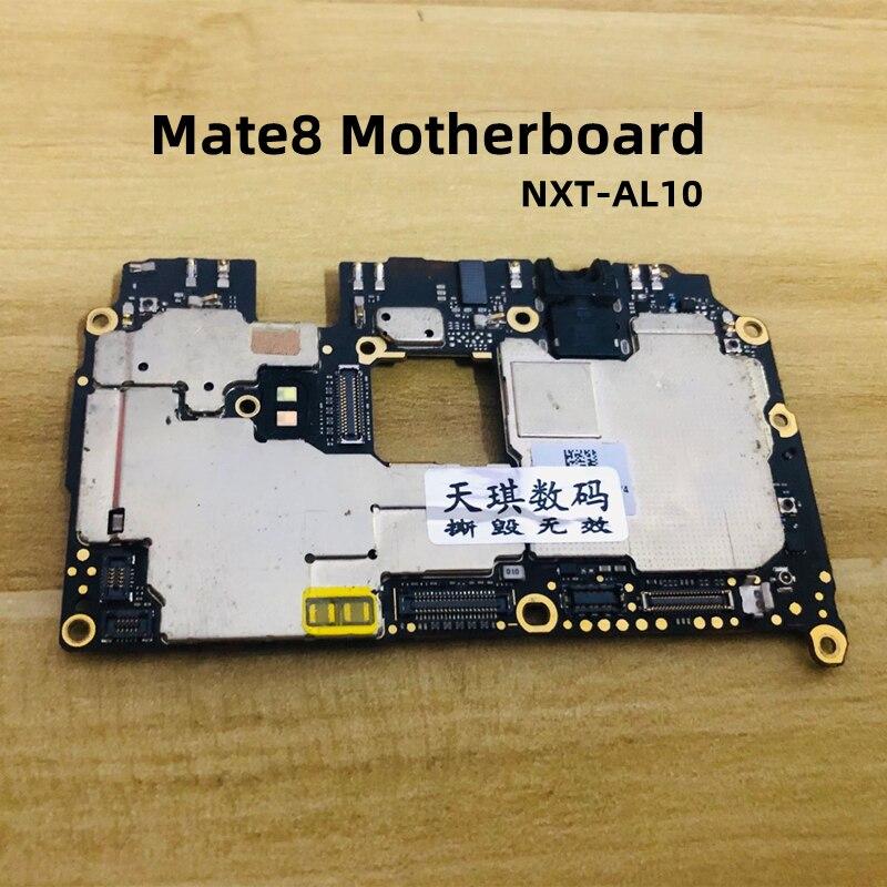 4 + 64GWork جيدا مقفلة اللوحة الرئيسية الدوائر الرئيسية الكابلات المرنة لهواوي ماتي 8 Mate8 NXT-AL10 NXT-AL100