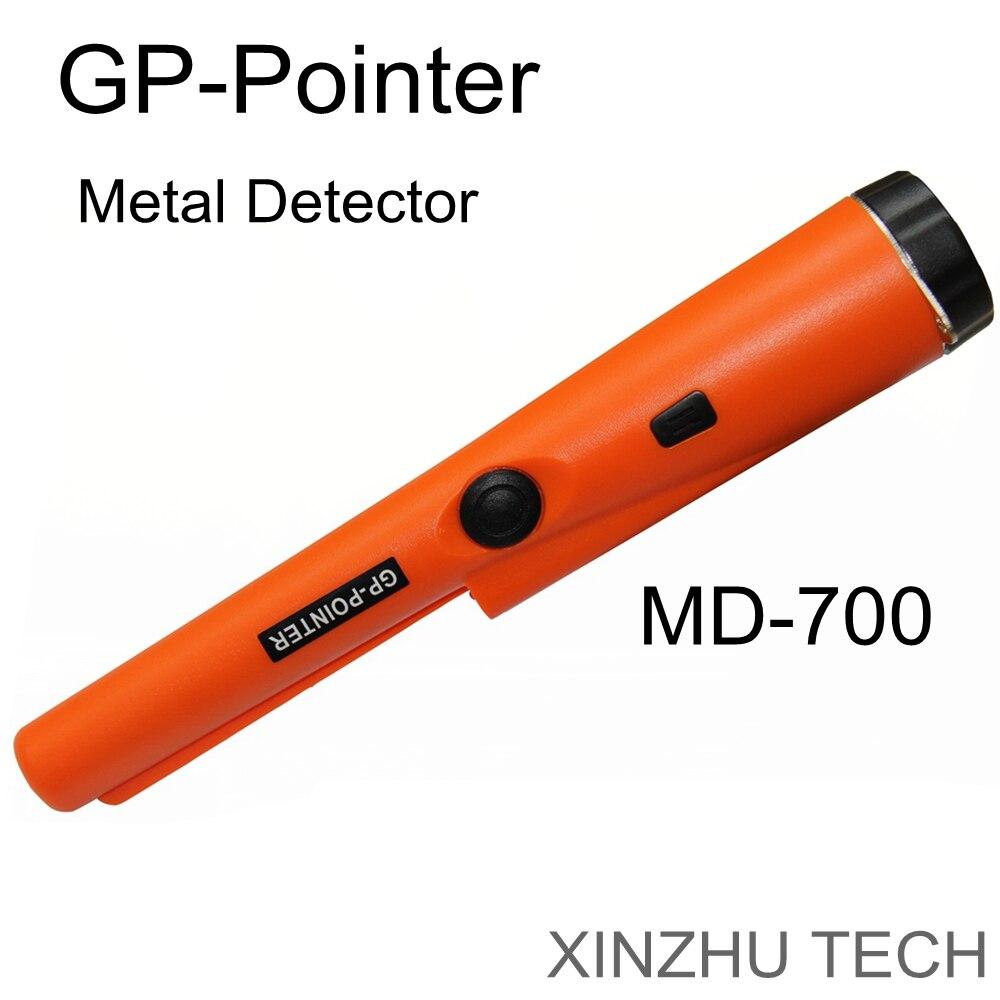 2019 neueste Professionelle GP-Pointer MD-700 Metall Detektor Handheld Pin Pointer Metall Detektor GP360 wasserdichte kopf pinpointer