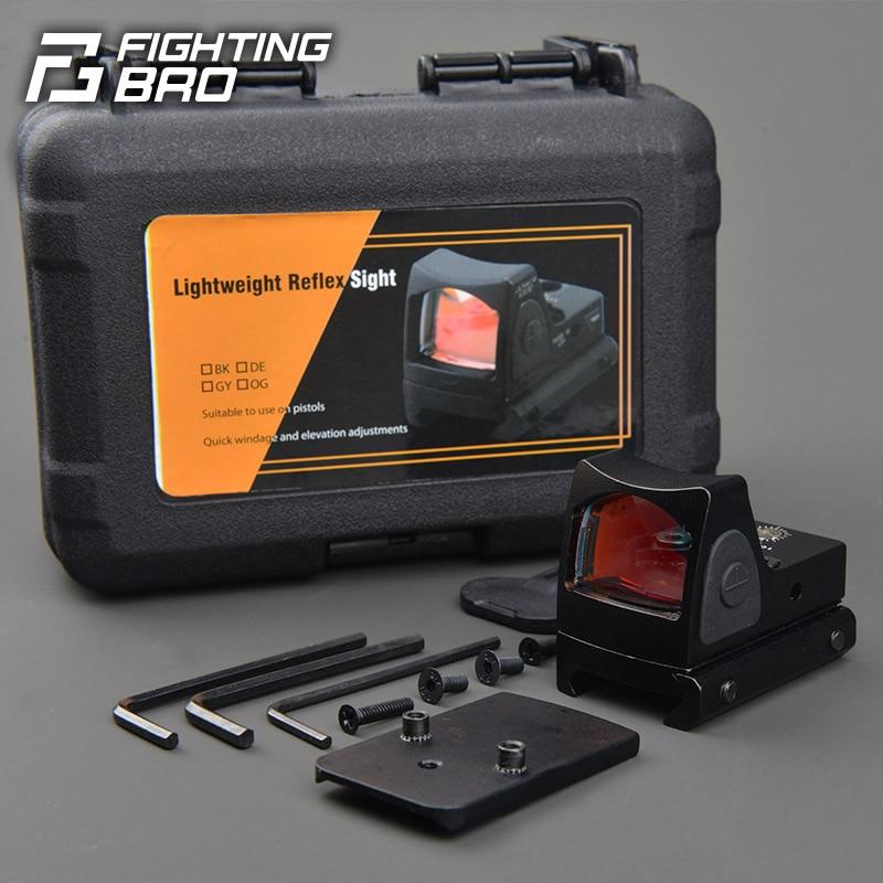 XPOWER RMR Optical Sight Metal No Chromatic Aberration G34/P1 Glock Light Weight GBB Airsoft Accessories Paintball Pistol