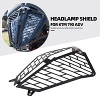 aluminum quick disassembly headlight protection for ktm 790 adventure r 2019 2020