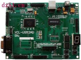 USB2ADDA مجلس تطوير التعلم عدة CY7C68013AMAX1156usb20 بروتوكول