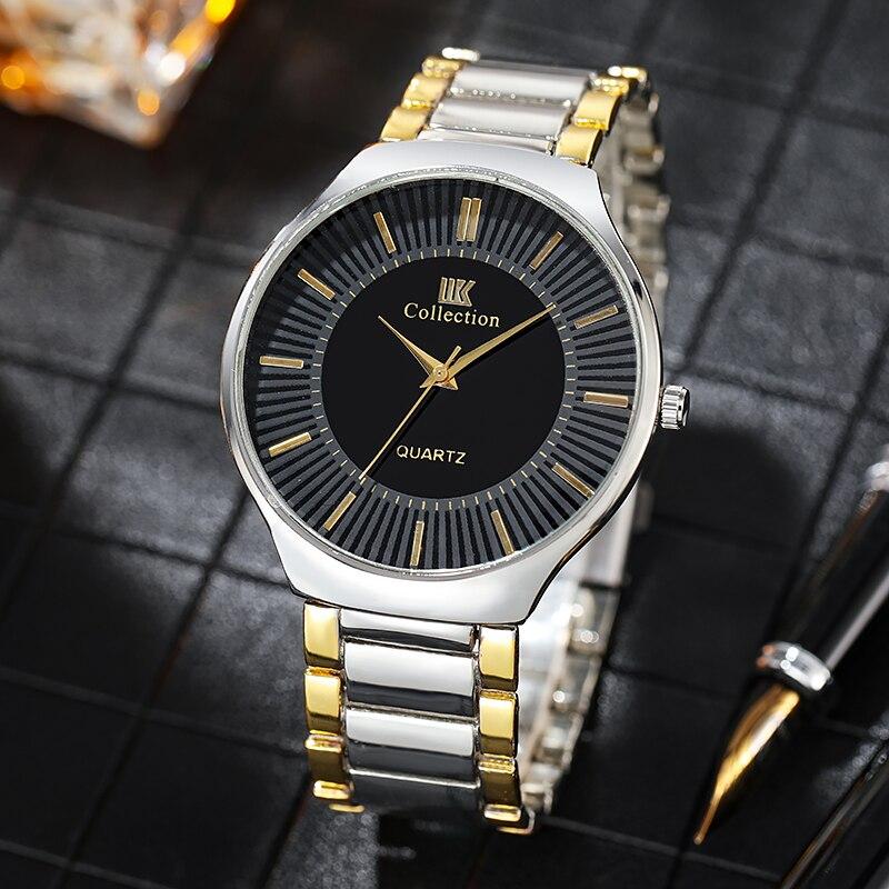 Горячая Распродажа мужские часы с кожаным ремешком 2020 Роскошные Дизайнерские золотистые кварцевые наручные часы reloj de hombre saat