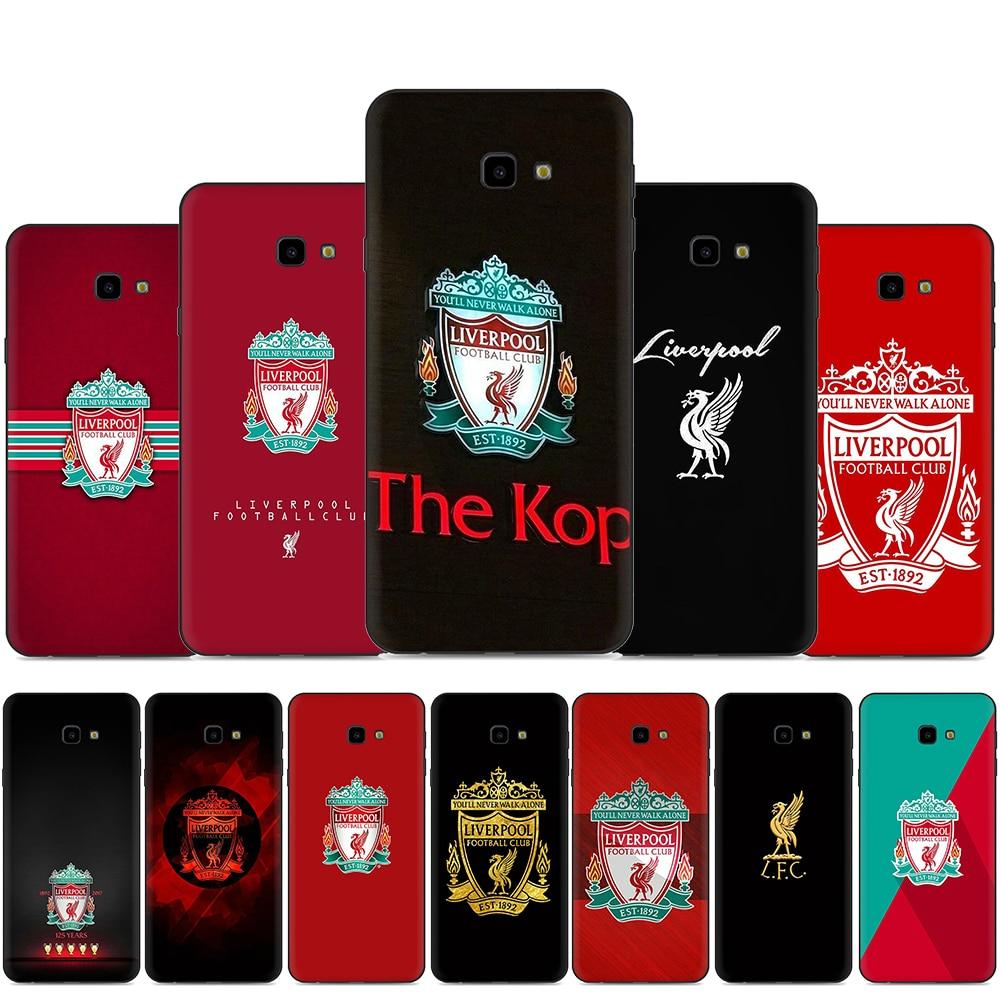 Ливерпуль FC силиконовый чехол для телефона Samsung Galaxy A2 Core A20E A70s J4 J6 Plus Prime J7 DUO J8
