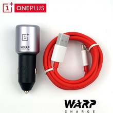 OnePlus Warp Charge 30 Car Charger Original 30W 5V6A Max OnePlus 7 7T Pro 6T 6  Input 12V24V4.5A Out
