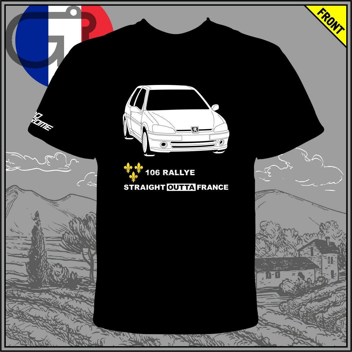 GT-camisa Peugeot 106 Rallye S2 97-98 Camiseta tee