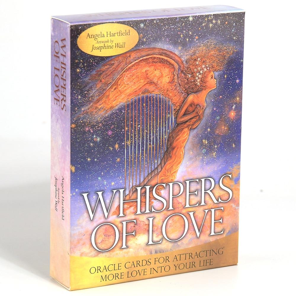 Шепот любви карты с изображением оракула игральные карты гадания раскрывающие Таро карты праздвечерние чные игры