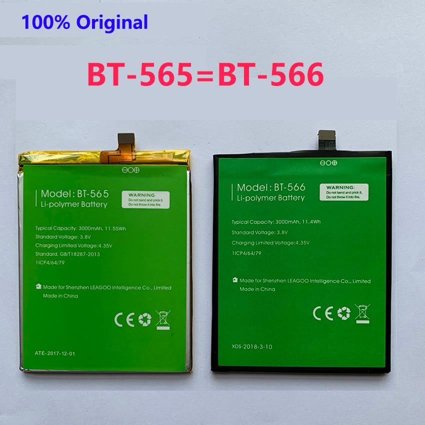 100% nuevo Original BT-565 y BT-566 batería de 3000mAh para Leagoo KIICAA...