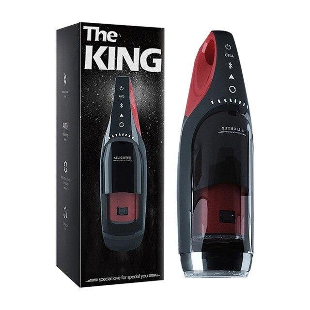 الملك جهاز استمناء لعبة التلقائي مص التدفئة و تلسكوبي الدورية الطائرات كأس الكهربائية جهاز استمناء الجنس لعب