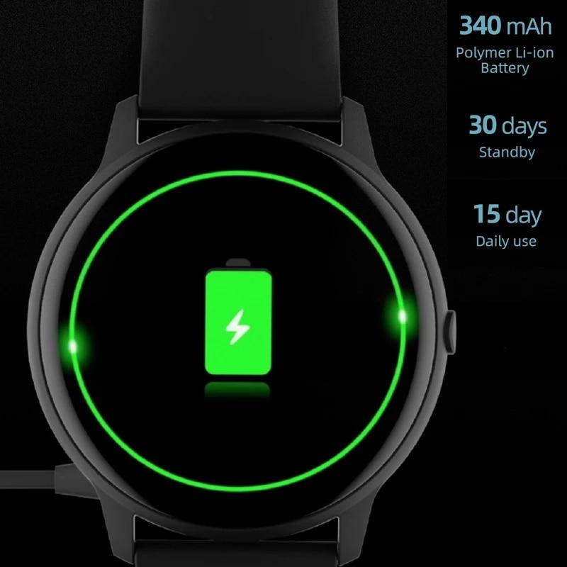 Купить с кэшбэком IMILAB KW66 Smart Watch Women Men BT5.0 Smart Watches Fitness Tracker IP68 Waterproof Smartwatchs for iOS Android Global Version