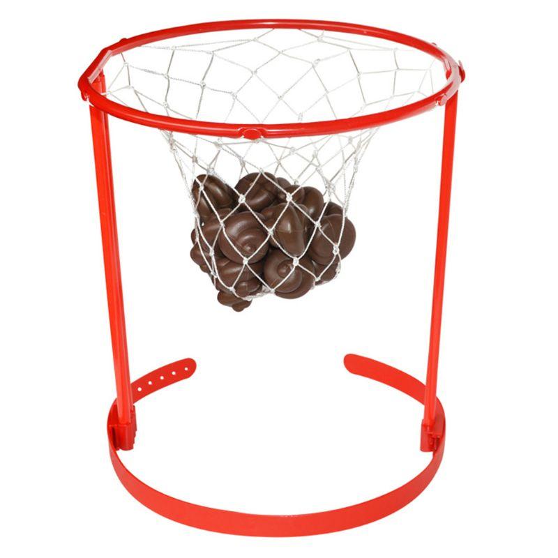 Adulte enfants Basket panier cerceau jeu bandeau caca caca jeter drôle fou jouets qualité supérieure