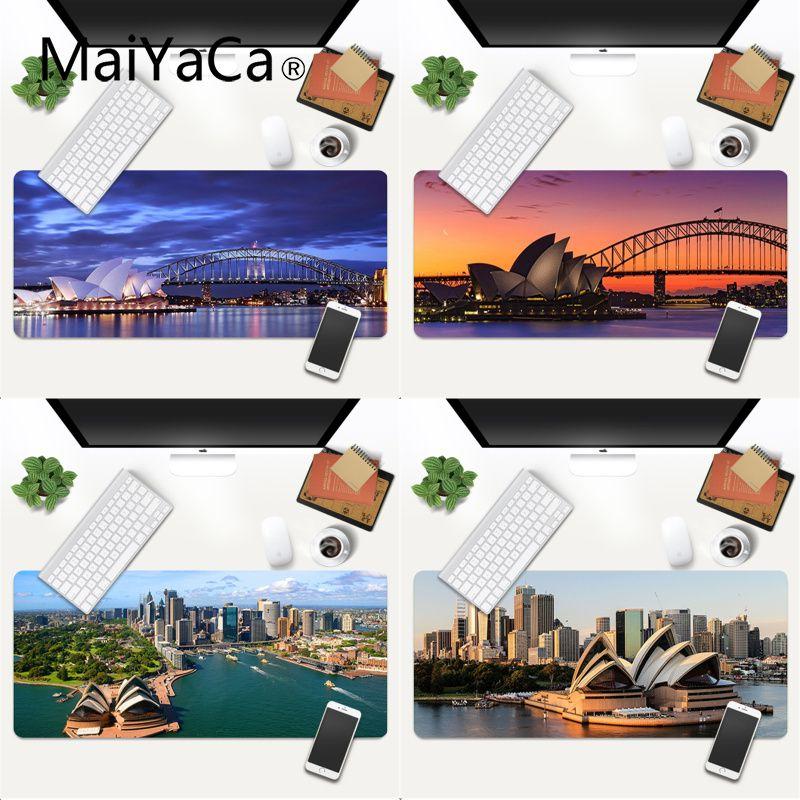 Новый дизайн от MaiYaCa, игровая скоростная мышь в стиле Сиднея, розничная продажа, маленький резиновый коврик для мыши, игровой коврик для мыши...