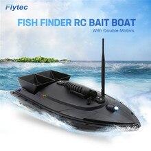 Flytec 2011- 5/V007/V500 электрическая рыболовная приманка RC лодка 500 м дистанционный рыболокатор 5,4 км/ч двойной двигатель игрушки комплект/версия RTR