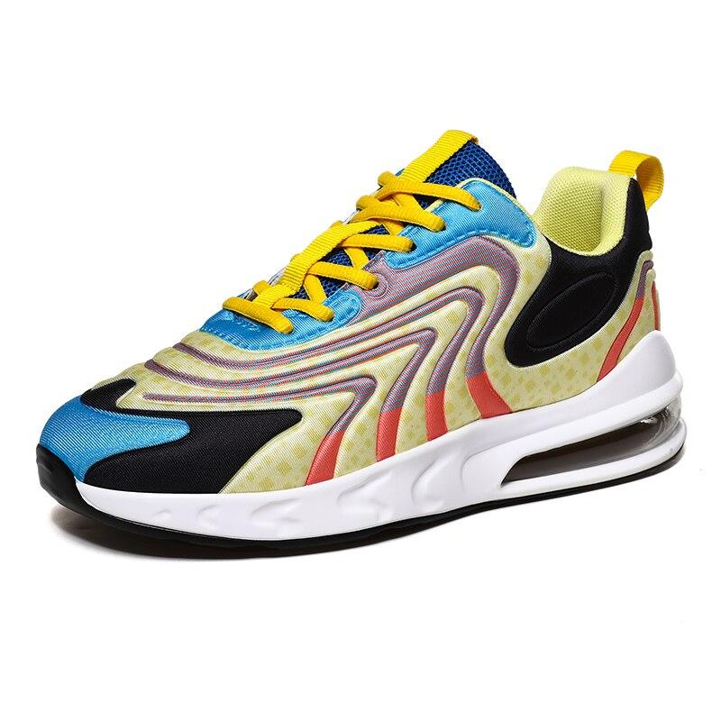 Новинка 2021, крутая спортивная обувь для прогулок для мужчин, удобная мужская обувь для тренажерного зала, амортизирующая спортивная обувь д...