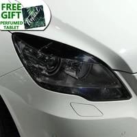 car headlight protective film transparent smoked black tpu sticker for mercedes benz r class w251 2010 2017 r350 accessories