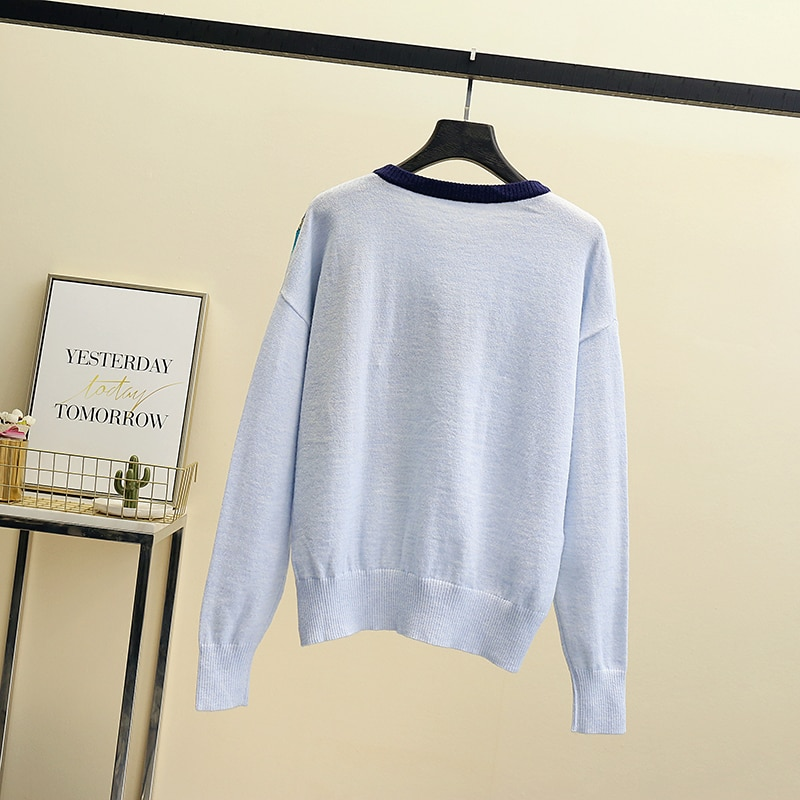 2021 Knitted Women Sweater New Spring Autumn O-neck Long Sleeve Sweater Pullover Female Thin Solid Jumper Ladies Sweater Tops enlarge