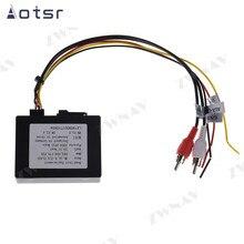 Специальные колонки и силовые кабели для Aotsr store Car с коробкой оптоволоконного усилителя для BENZ для AUDI A5 для PORSCHE