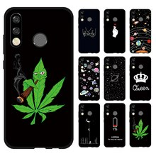 Black Matte Cases For Huawei Honor 20 Pro 9X 8X 10i 9 10 Lite P30 P20 Lite Mate 20 Pro P Smart 2019 P-Smart Z TPU Pattern Cover