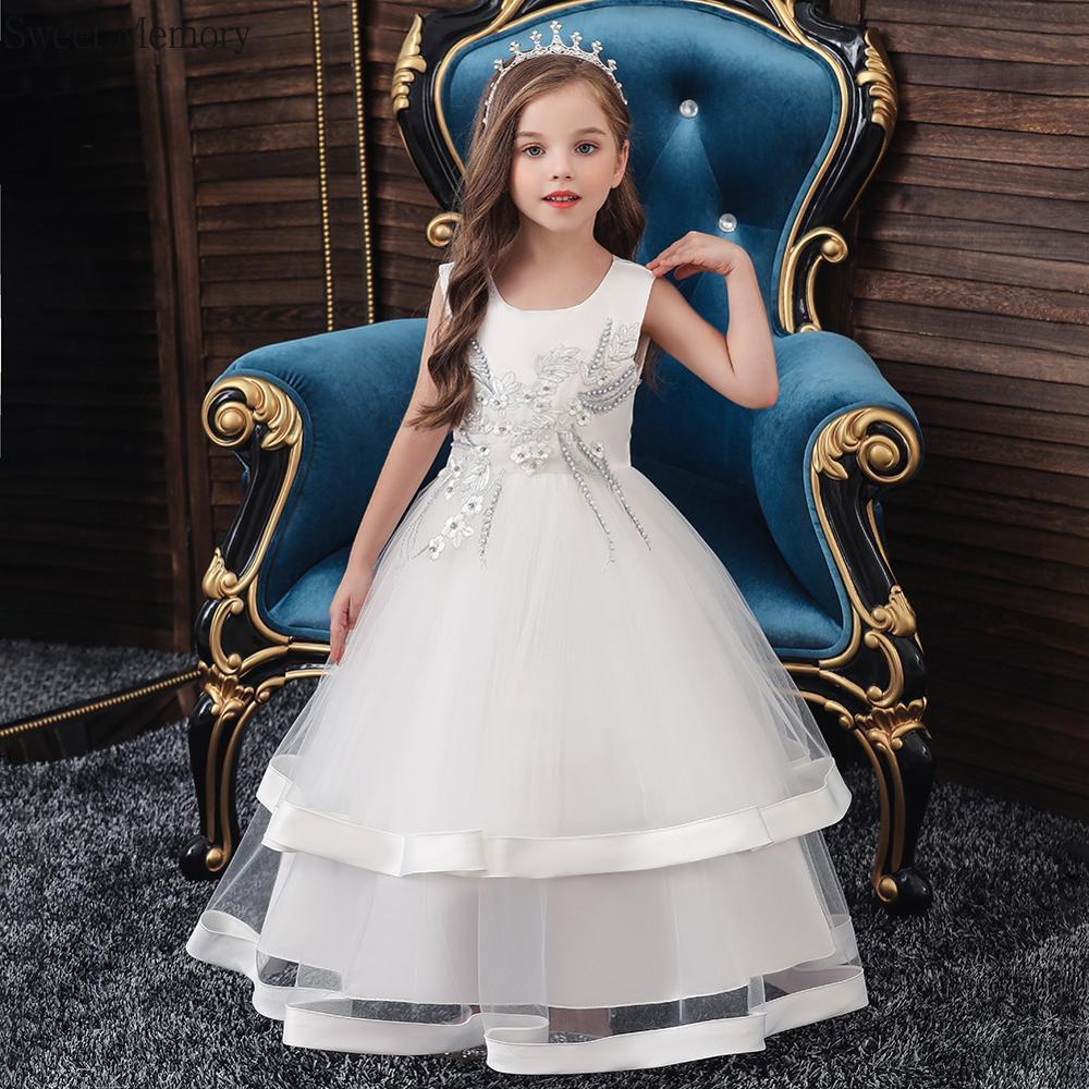 فستان حفلة مزهر أحمر ، أزرق ملكي ، أبيض ، وردي ، ياقة دائرية ، بلا أكمام ، فستان زفاف ، مجموعة 2021