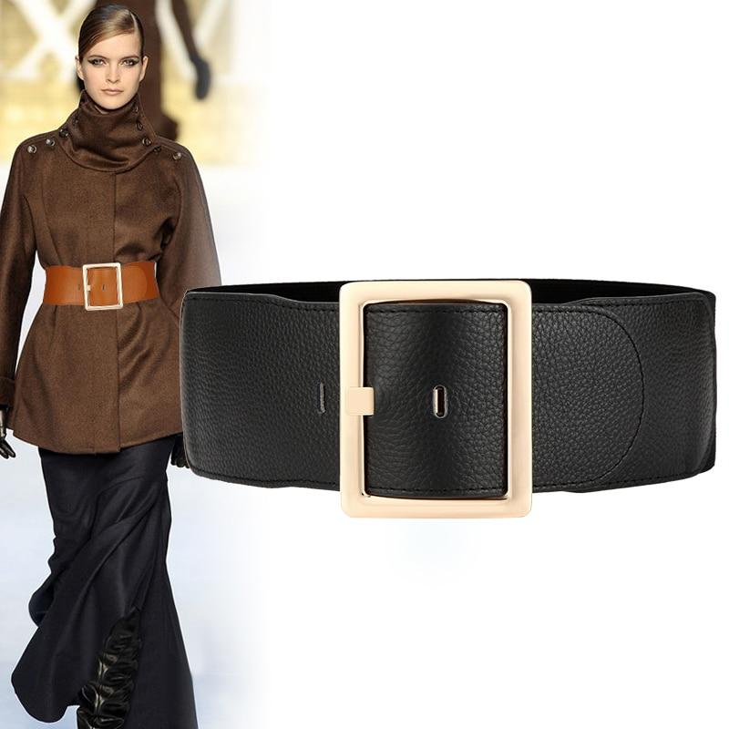 Vintage corset belt woman waist wide belts for women 2020 elastic plus size belt luxury designer ceinture femme dress cummerbund