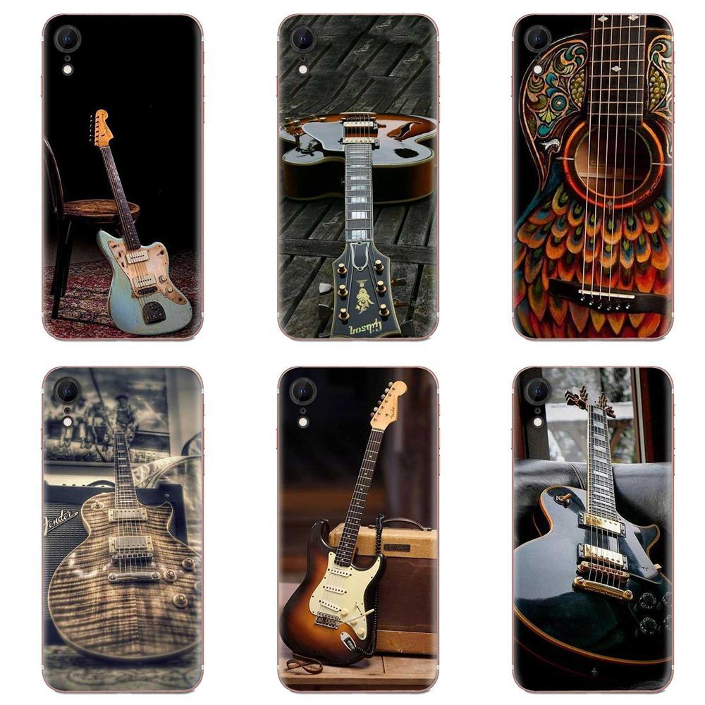 Music Score Violin Guitar TPU Hot Selling For Samsung Galaxy Note 8 9 10 Pro S4 S5 S6 S7 S8 S9 S10 S11 S11E S20 Edge Plus Ultra