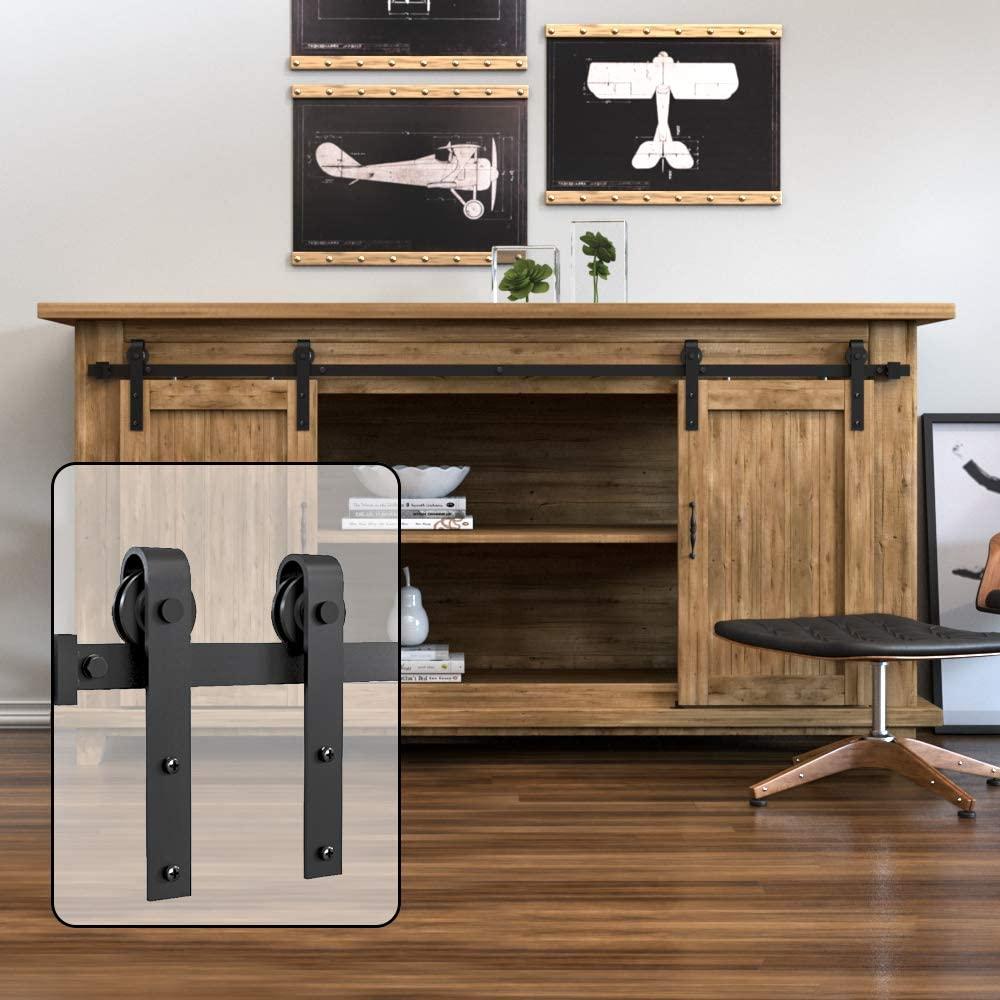 Haccer-مجموعة من الأبواب المنزلقة للتلفزيون ، وأدراج خزانة منزلقة للتلفزيون ، والأثاث