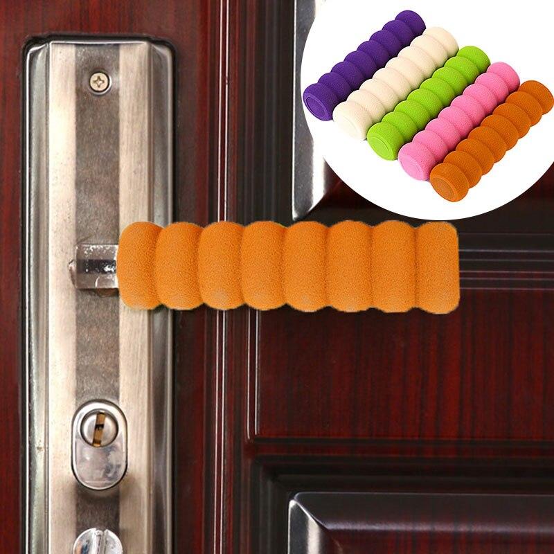 1pc door 1PC Door Knob Covers Soft Foam Door Handle Knob Cover Protector Modern Elastic Door Handle Static-free Baby Safety Protective