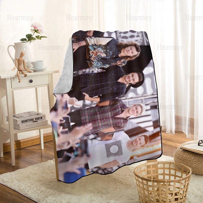 بطانية ثلاثية الأبعاد قابلة للتخصيص ، اتجاه واحد ، اتجاه جديد ، للأريكة/السرير/السيارة ، للأطفال ، المنسوجات المنزلية ، 1208