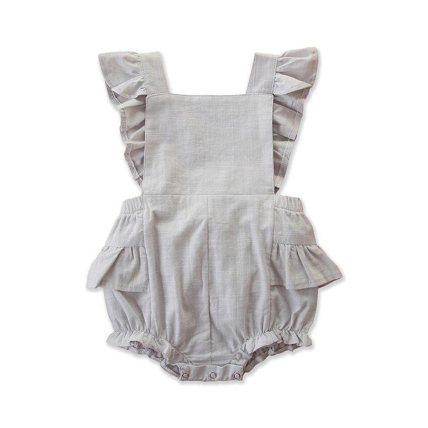 Оптовая продажа, высокое качество, Лидер продаж, однотонный детский комбинезон, бутик детской одежды, обычная детская одежда для девочек