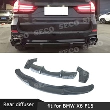 Carbon Fiber / FRP Front Lip Spoiler Rear Lip Diffuser Bumper Splitters For BMW X5 F15 M-Tech M Sport 2014 - 2018 Body Kit