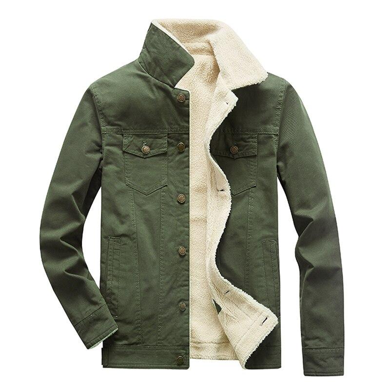 التطبيق العملي الرجال جواكت شتوية ومعاطف الصوف التكتيكية الدافئة أبلى معطف ABZ94