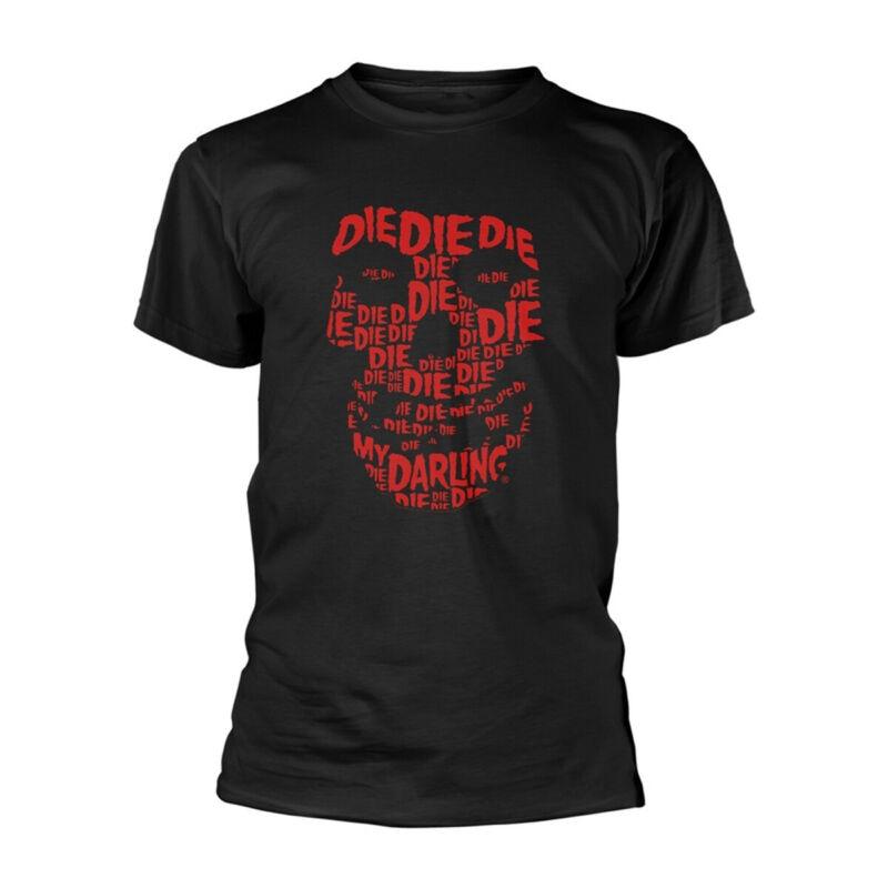 The Misfits Die Die Die Skull Face Official Tee T-Shirt Mens