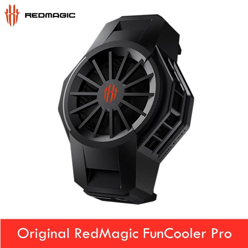 Original ZTE Red Magic 5G ICE Dock Cooling Fun RedMagic 5S FunCooler Pro Mobile phone radiator Fan Cooler for Nubia iPhone