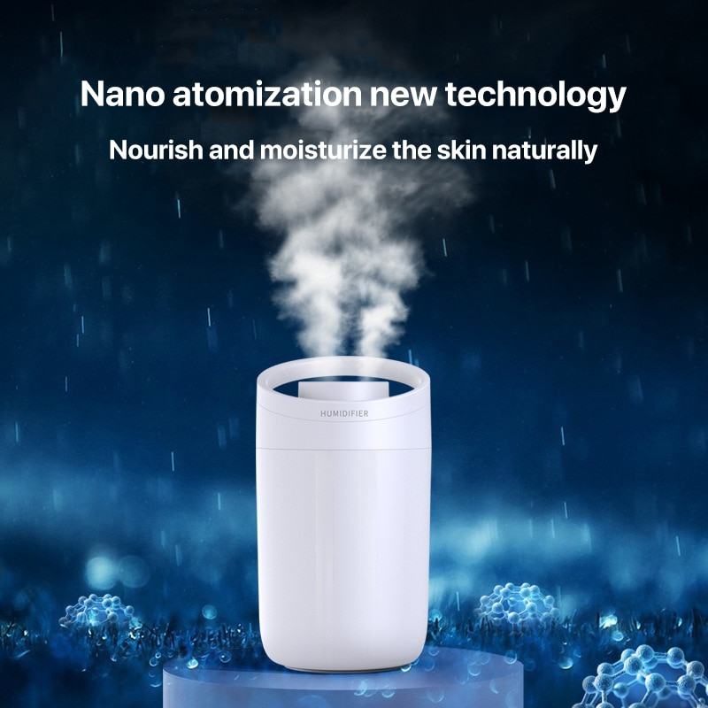 Household humidifier aromatherapy 3L large-capacity double spray ultrasonic