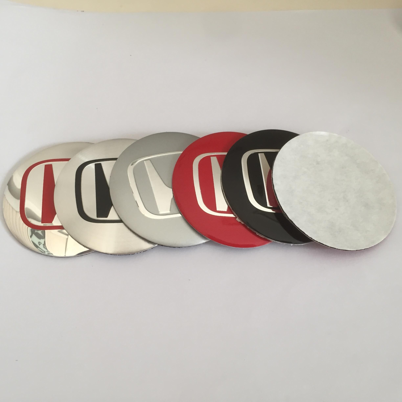 4 pçs 56mm 65mm centro da roda do carro tampa emblema cobre emblema etiqueta do carro estilo acessórios