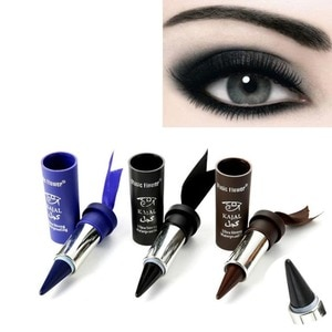 1 pc Women Smoky Eyes Pencil Thicker Thick Bold Wholesale Liner Gel Available Eyeliner Pencil Eyes Black Z3D8