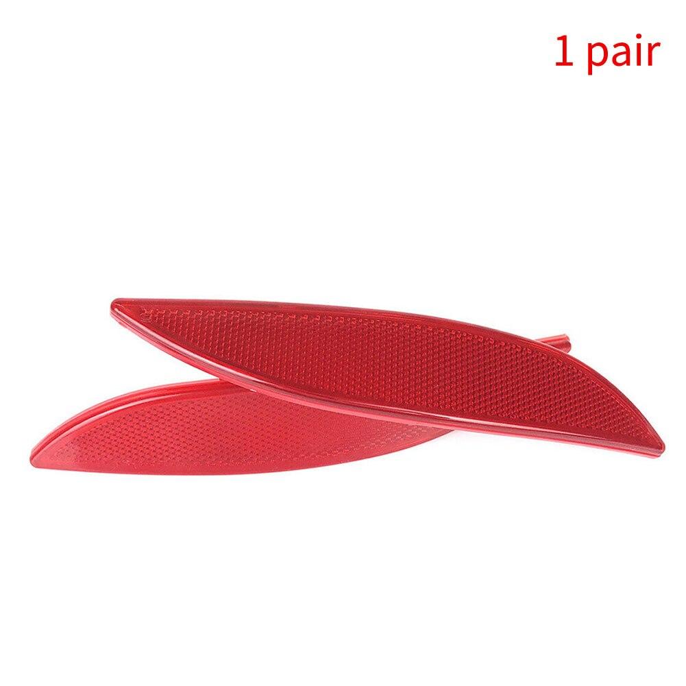 1 par amortecedor traseiro refletor 3804 3805 265650004r luz lente do carro auto esquerda direita fácil instalar vermelho exterior para renault megane mk3