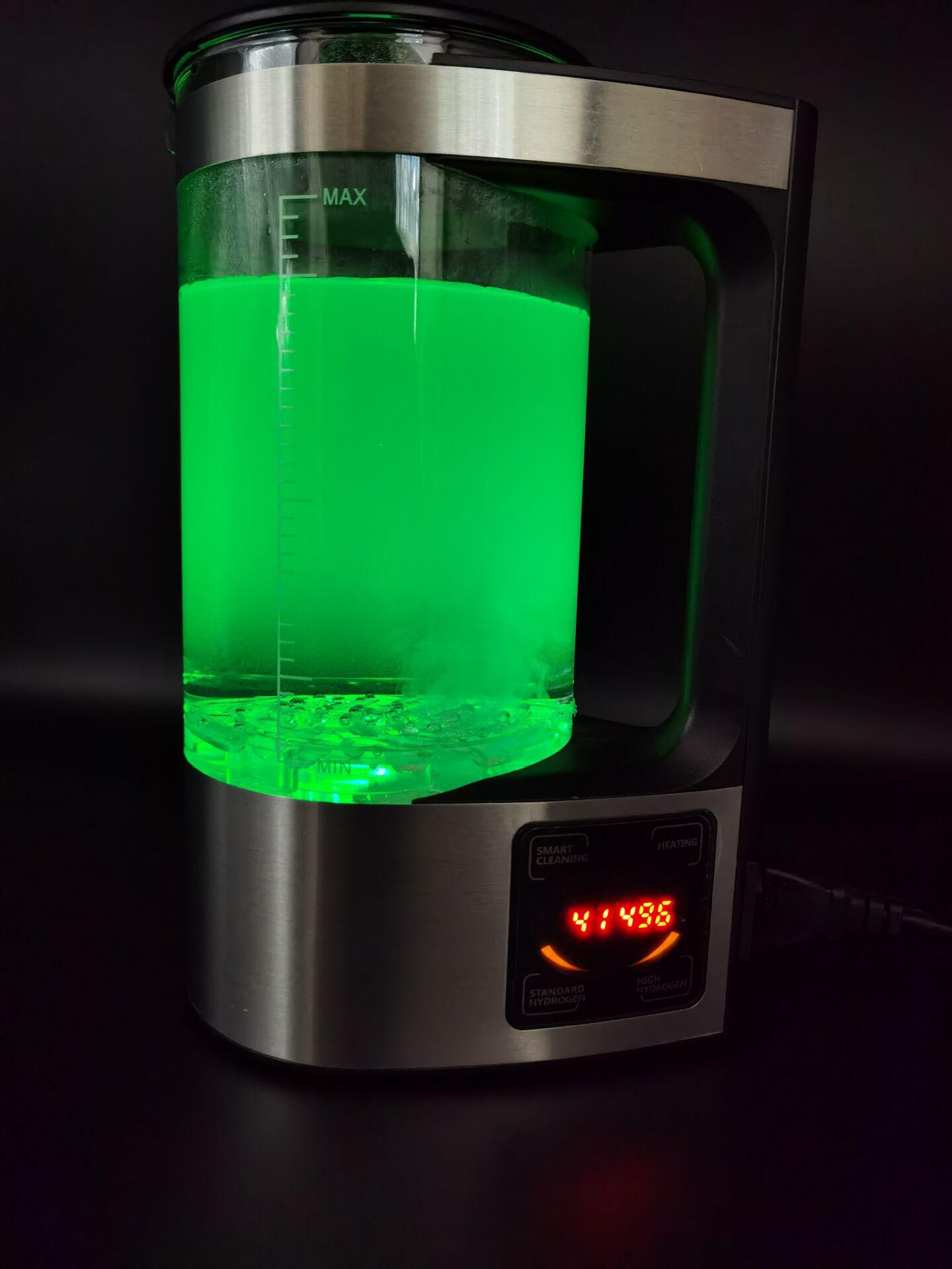 100-240V 2L Electric Hydrogen Rich Water Kettle Water Ionizer Machine Water filter Drink Hydrogen Water Generator