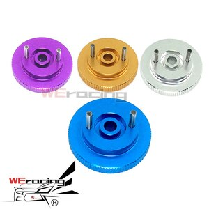 2pcs HSP 102006 122006 Aluminum Lightweight Flywheel 02068 1/10 Upgrade Parts For 94102 94122 94155 94166 94177 94108 94188 F201