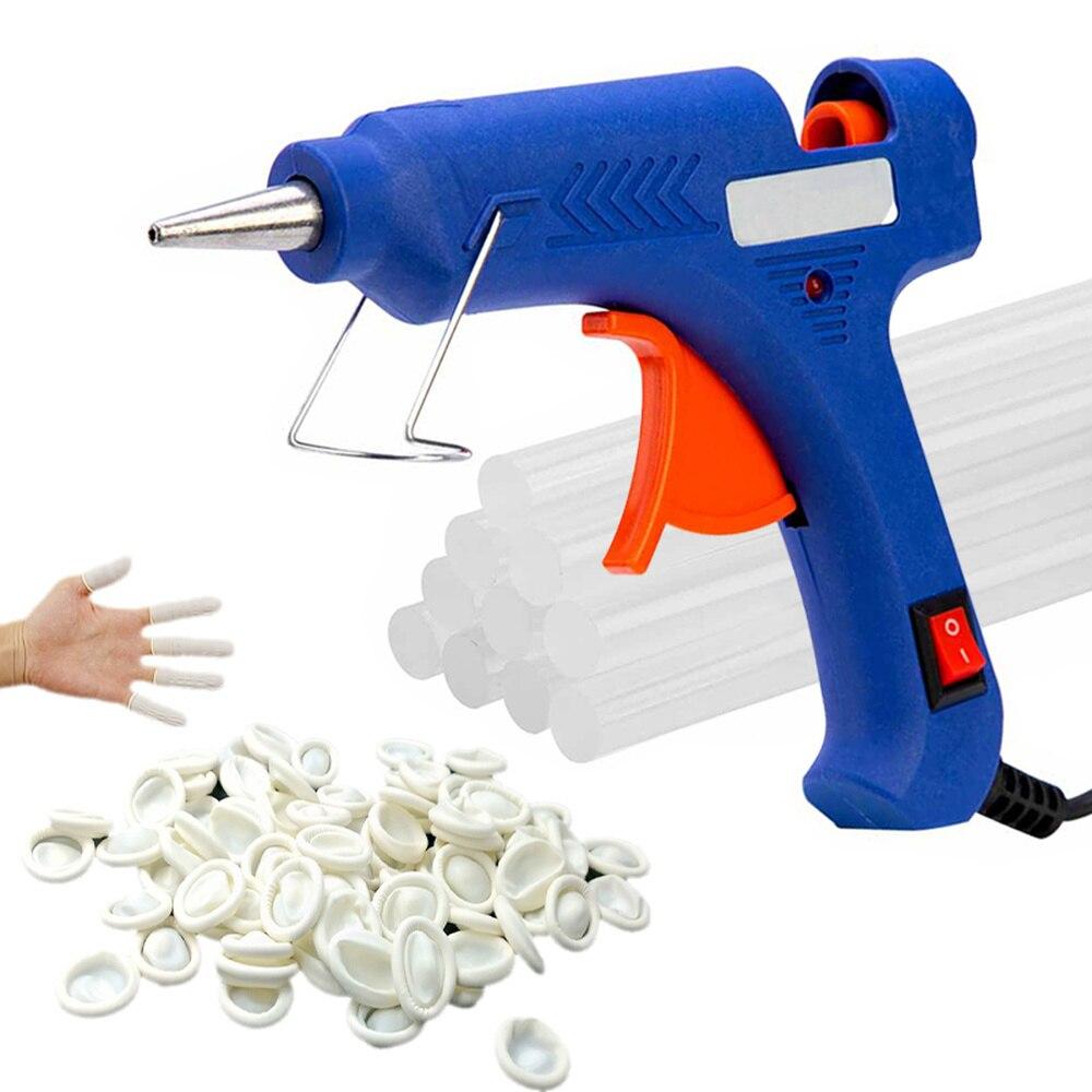 Пистолет для термоклея с клеевыми стержнями, промышленные мини-пистолеты, самодельные электрические Термометры с палочками 11*100 мм, 160 Вт
