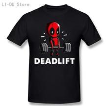Deadpool étonnant, haltérophilie, fitness amusant
