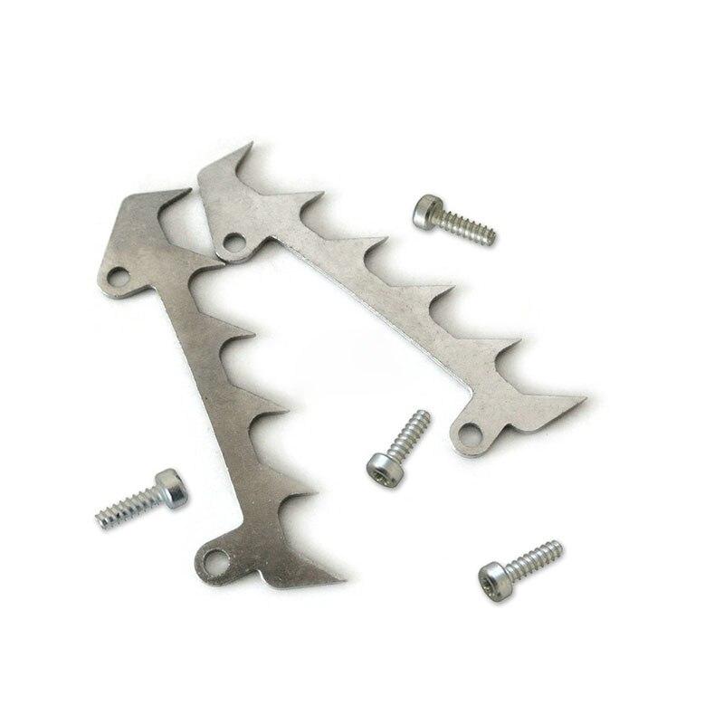 2Pcs Fällen Stoßstange Spike Perfekte Für STIHL MS170/MS180/MS230 MS250 017 018 021