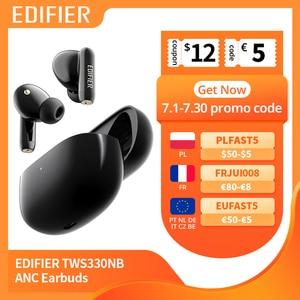 TWS-наушники EDIFIER TWS330NB гибридные с поддержкой Bluetooth 5,0 и технологией AAC HD